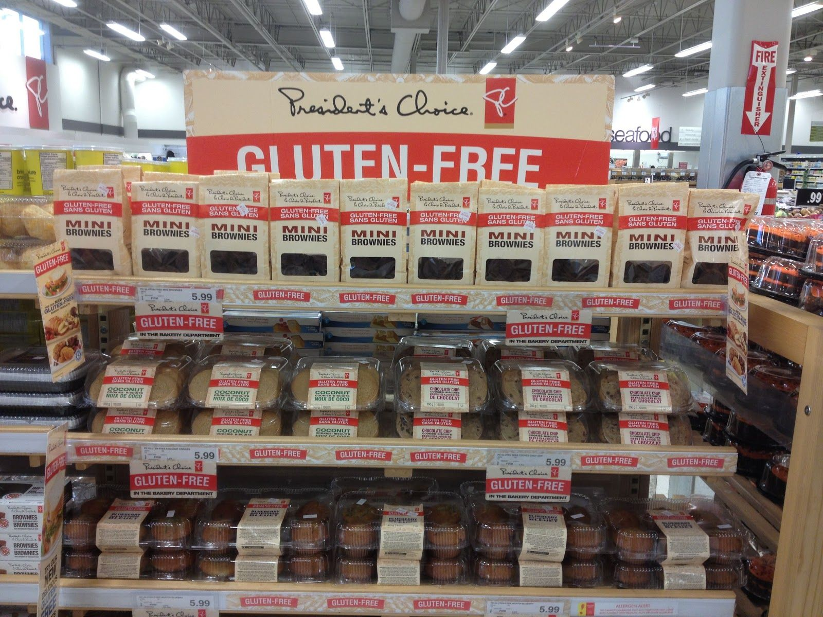President's Choice Introduces Gluten Free Bakery to