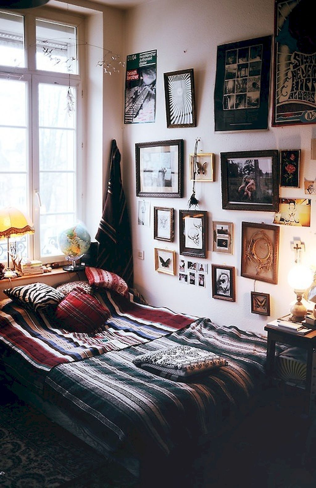 66 Cute DIY Hipster Bedroom Decorations Ideas | Bedrooms, Decoration ...