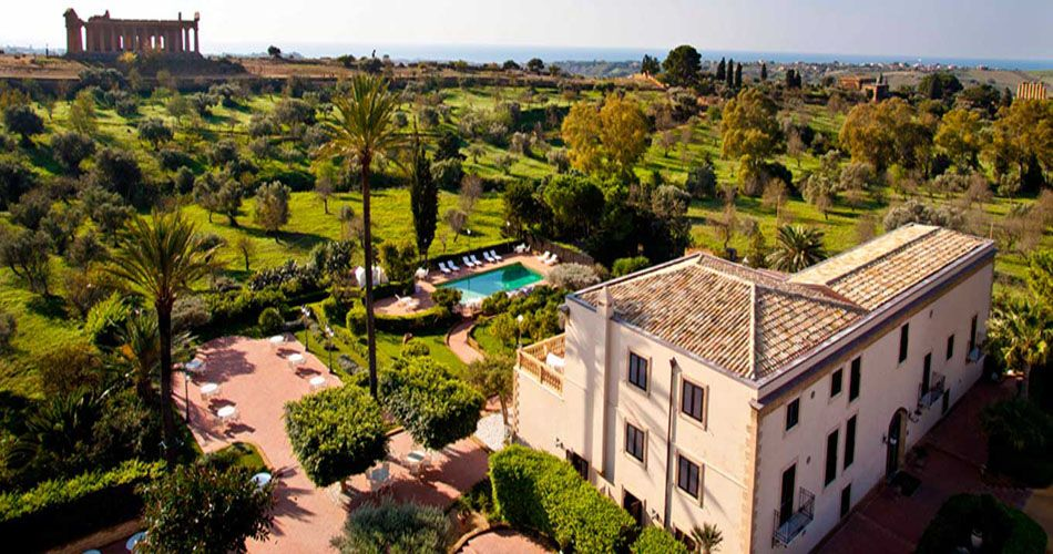 Hotel Villa Athena Athena Hotel Luxury Spa Hotels Agrigento