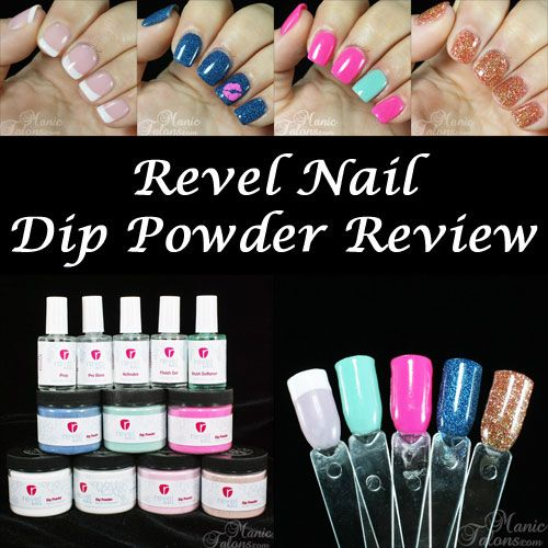 Nail Dip Powder Non Acrylic: Revel Nail Dip Powder Review
