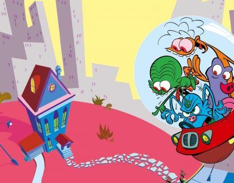 Les zinzins de l 39 espace my favorite xilam cartoons cartoon art bart simpson - Les zinzin de l espace ...
