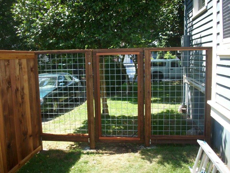 Hog Panel Fence Design Google Search Fence Planning