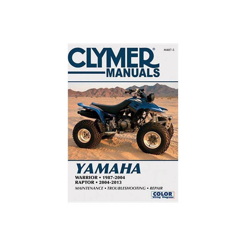 Yamaha Warrior 1987-2004 & Raptor 2004-2013 - (Clymer ... on 87 honda magna wiring diagram, 87 harley sportster wiring diagram, 87 yamaha warrior battery,