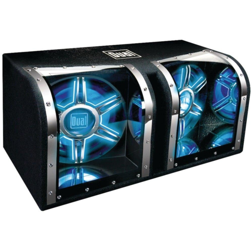 DUAL BP1204 Dual 12 Subwoofers Bandpass Box