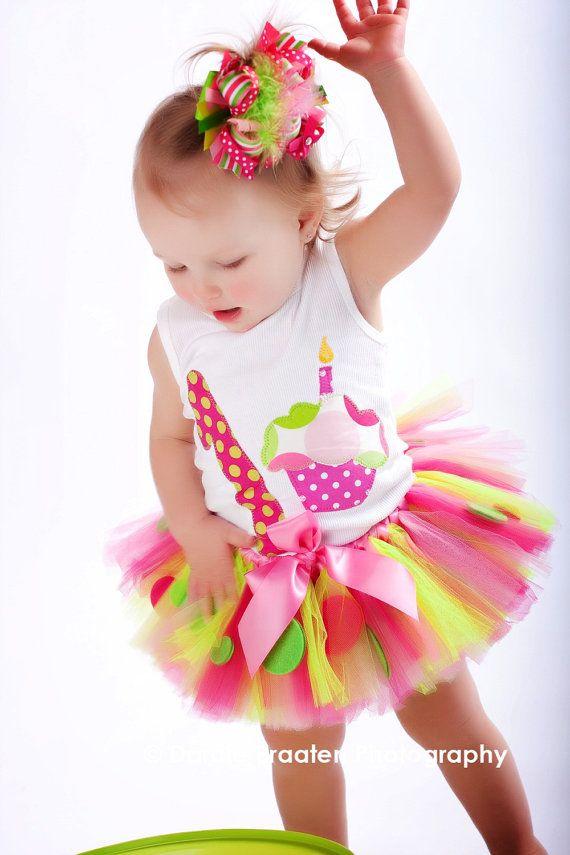 Rainbow tutu on etsy.com | Ciao Bambina | Pinterest | Tul, Fiestas ...