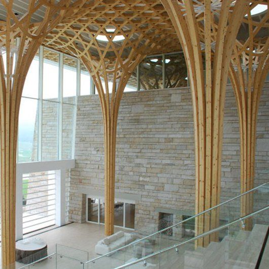 Free Form Structures For Wood Projects Blumer Lehmann