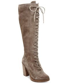 EtroSuede Lace-Up Boot JQkYB