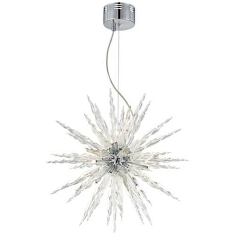 Awesome Possini Euro Design Glass Icicle Pendant Light Images