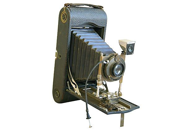 Early-20th-C. Folding Kodak Camera on OneKingsLane.com