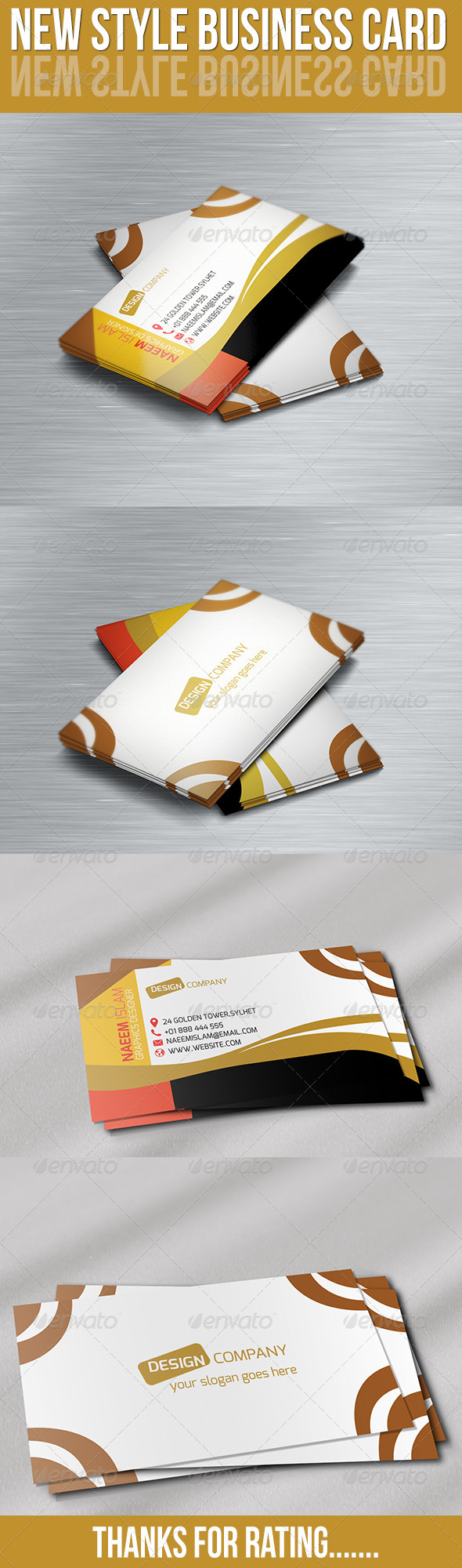 New style business card adobe photoshop business cards and adobe new style business card features easy to edit optimized for printing 300 dpi cmyk color mode 352 inch dimension 025 bleed reheart Image collections