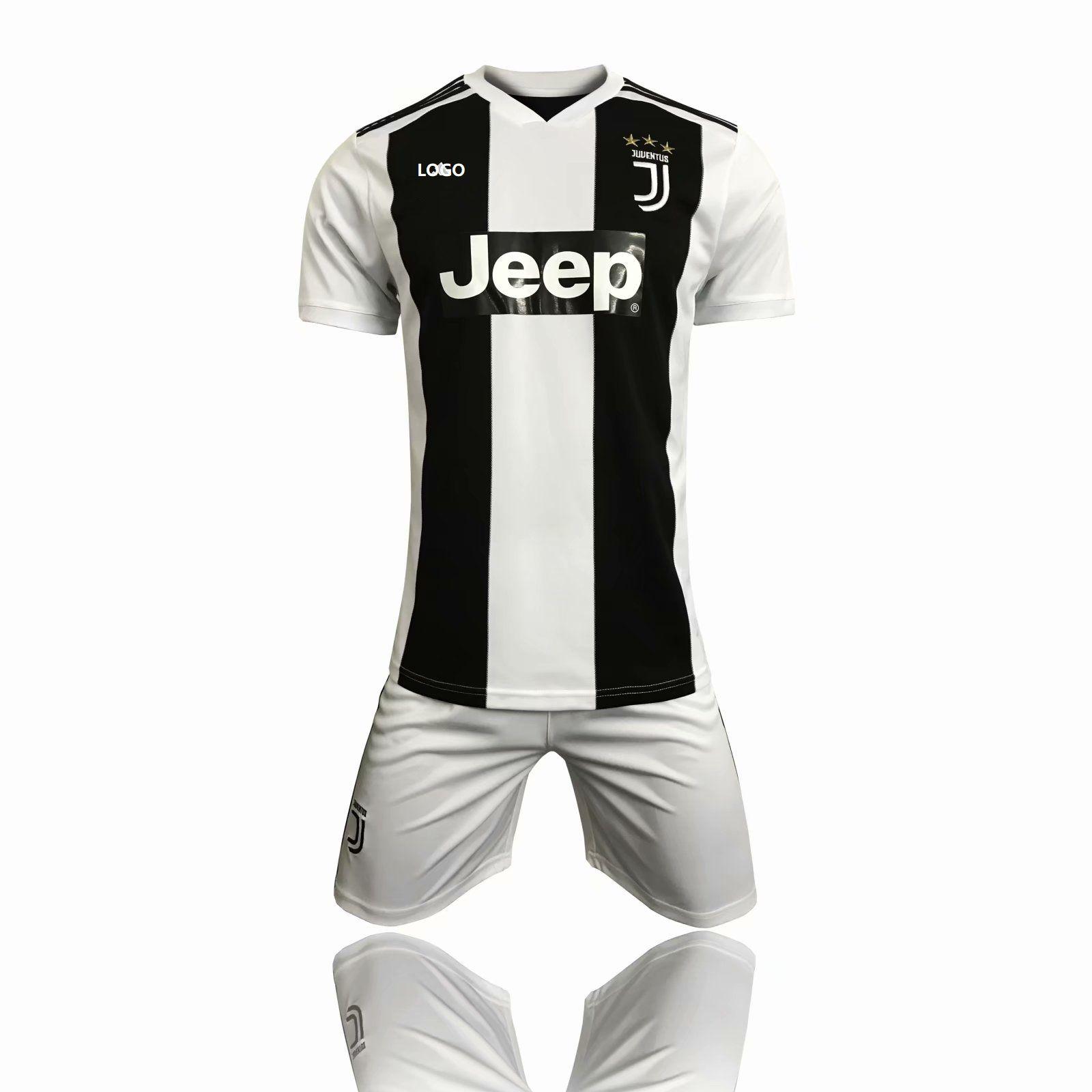 8967eeaf148 18 19 Juventus Home Soccer Uniform AAA Quality