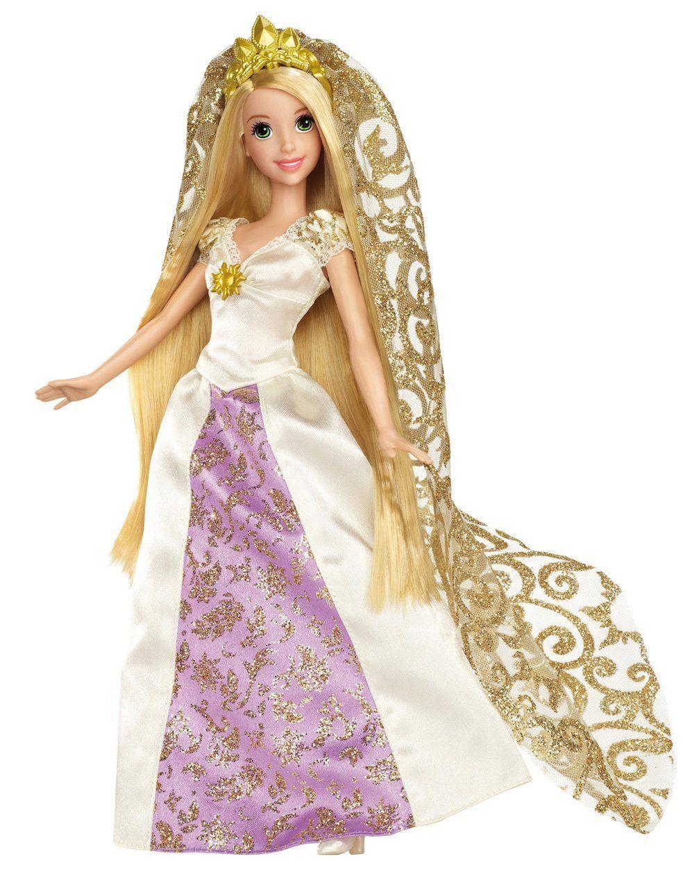 Disney Princess Rapunzel Bridal Doll | Barbie Playline Dolls ...