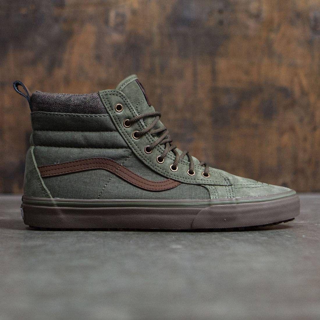 d56e47fc19de55 Vans Men SK8-Hi MTE DX (green   dark gum)