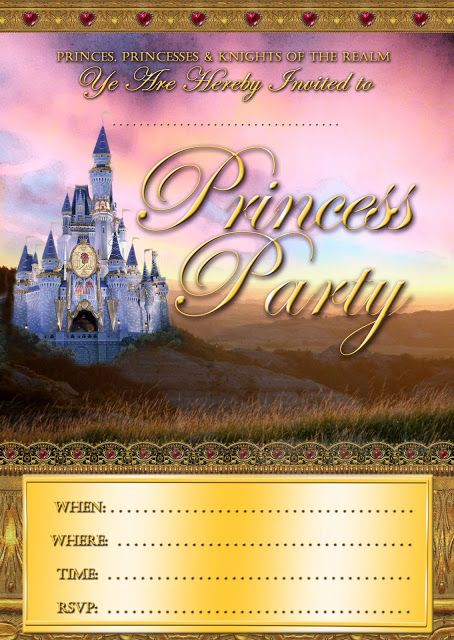 royal princess invitation template free right click the image to