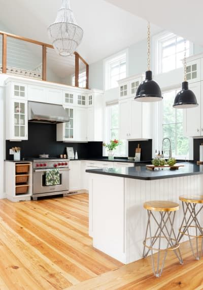Modern Glam Design Newport Home Tour is part of Luxury home Black - Check out the way one Newport home becomes a modern beach haven with touches of glam and earthy elements  Bringing the outside in, the home embodies a style of seaside glam that feels new and fresh
