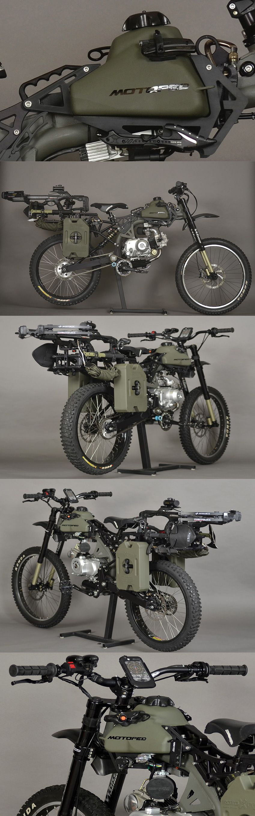 Motopeds Survival Bike Is The Ultimate In Pedal Power Adventuring Penta Marine Engine Parts Further Ducati Diagram Besides 50cc