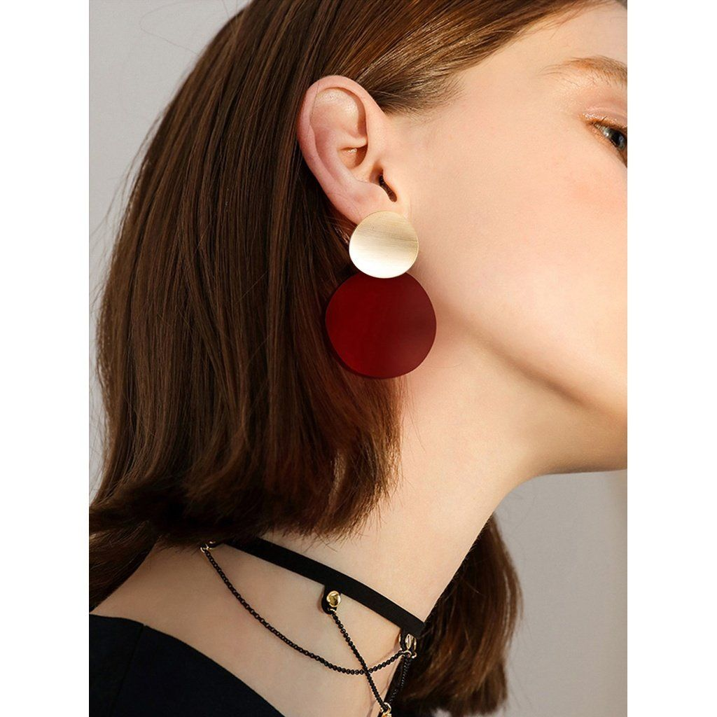 flat men disc guys l cool stud caymancode for earrings