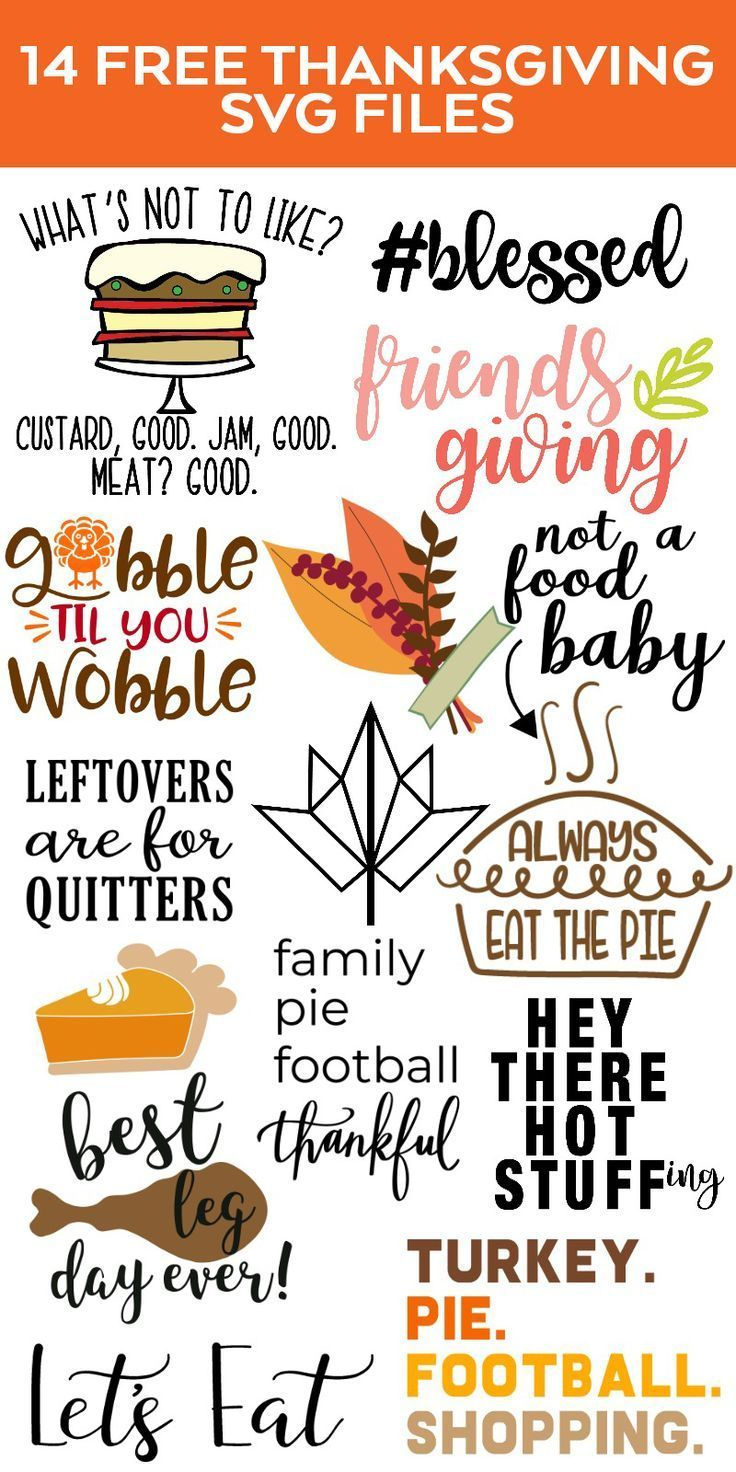FREE Thanksgiving SVG - DIY Thanksgiving Decor - Pineapple Paper Co.