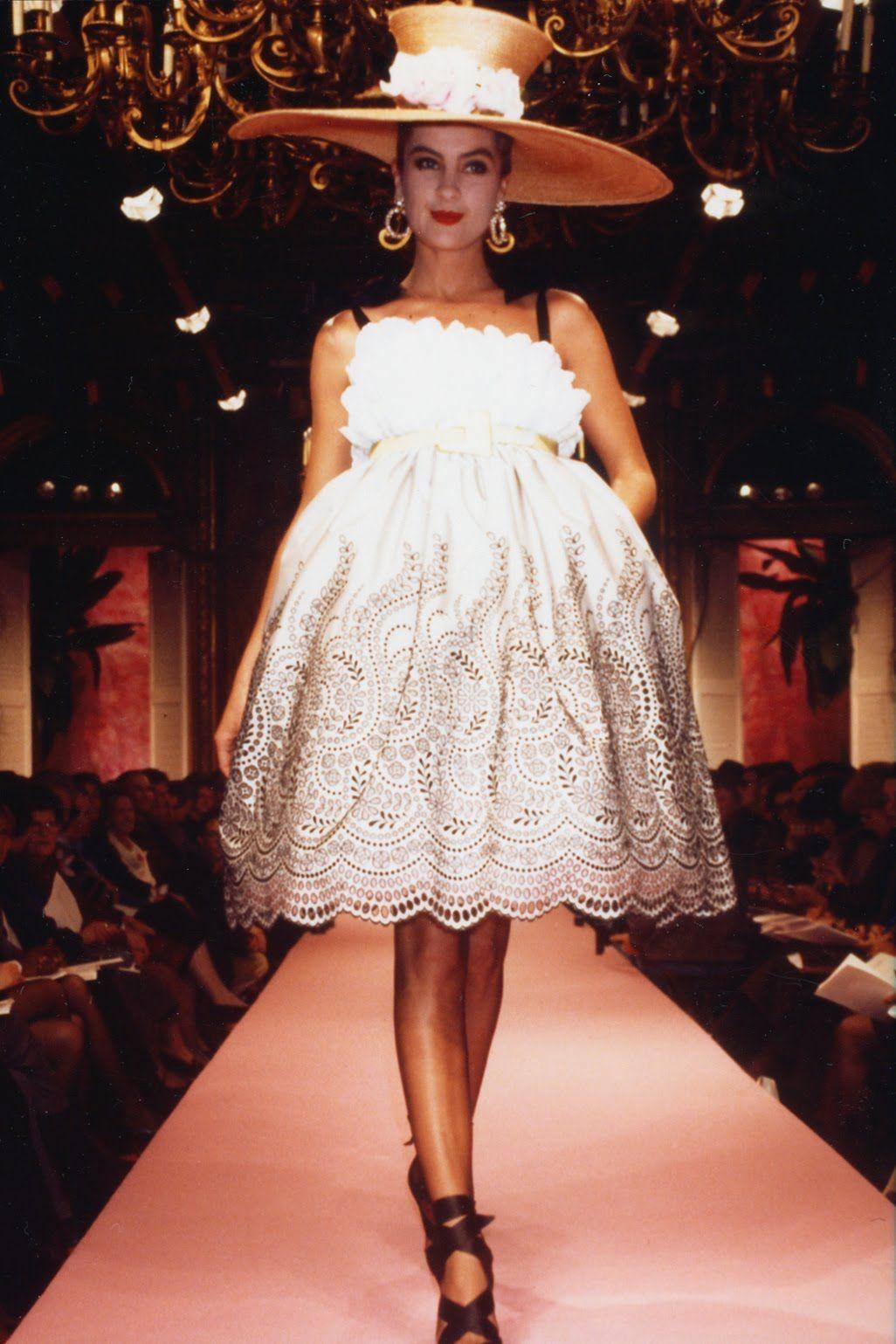 Christian Lacroix for Jean Patou Haute Couture