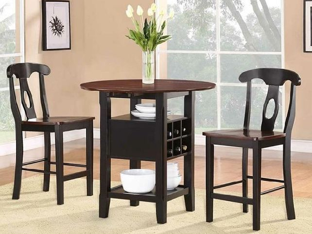 random photo gallery small dining room table sets and | Home Design ...
