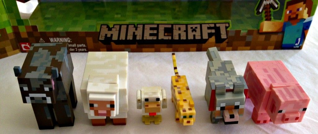Minecraft Overworld Animal Toys