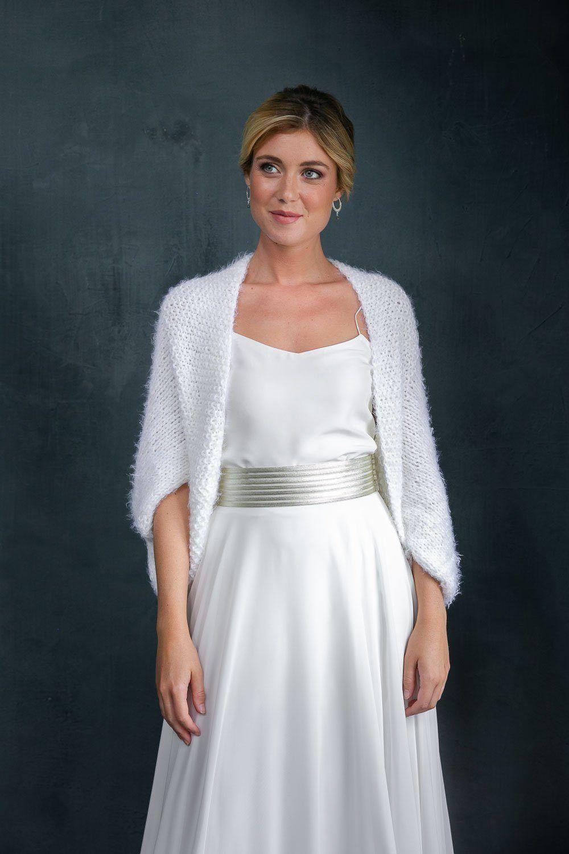 Weiße Jacke Hochzeit