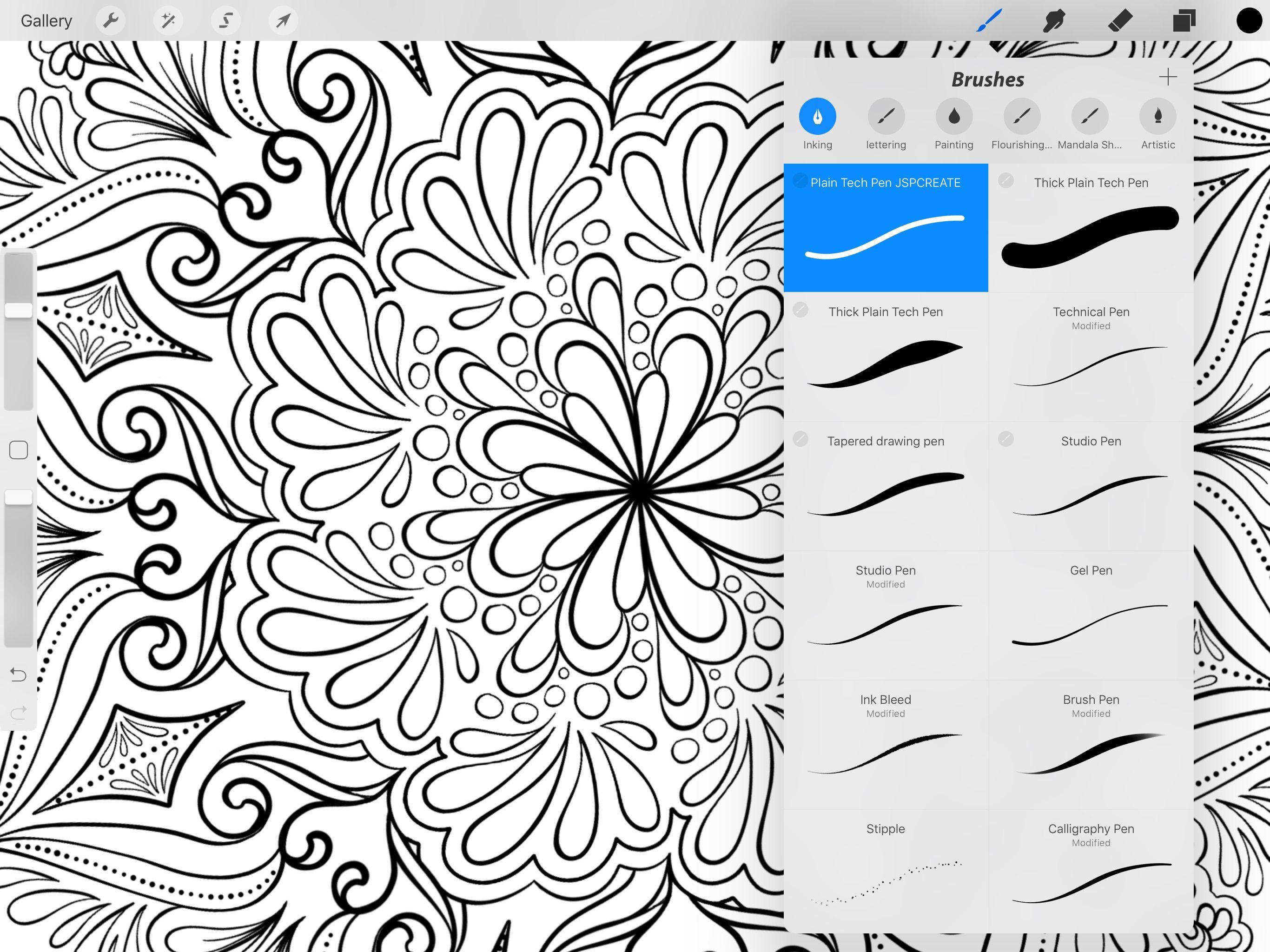 Procreate Coloring Pages Free - Lautigamu