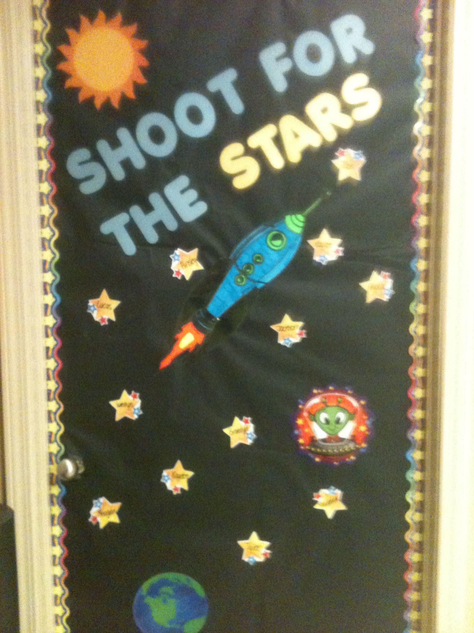 Space Theme Bulletin Board
