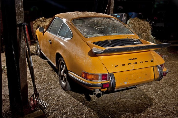 How About This For A Barn Find An Unrestored Right Hand Drive Porsche Recently Unearthed In Ireland After 37 Years Re