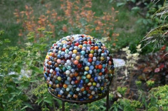 Decorative Marble Balls Reclaimed Marble Garden Ball  Marbles  Pinterest  Marbles