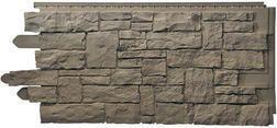 Novik Vinyl Siding Stacked Stone Panel From Menards 3 39 Stone Panels Stone Vinyl Siding Stacked Stone Panels