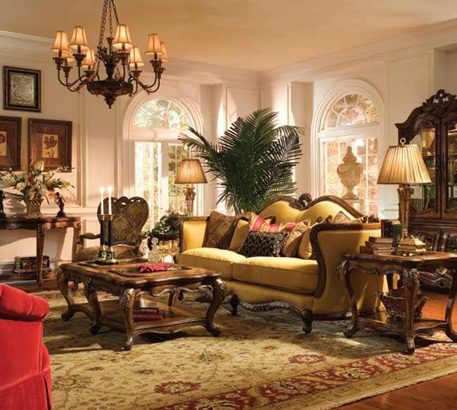 Michael Amini Palais Royale Living Room Collection