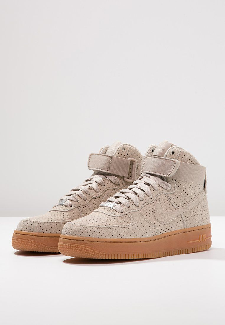 nike air force 1 beige suede zalando s h o p p i n g l i s t pinterest nike air force. Black Bedroom Furniture Sets. Home Design Ideas