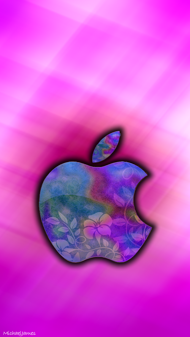 Pink Lily Ombre wallpaper iphone, Apple wallpaper, Apple