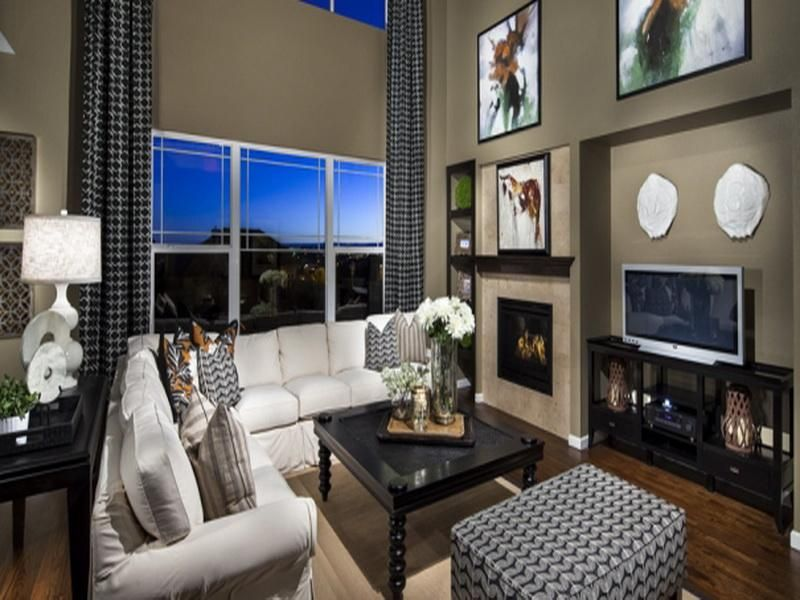 Pics Above Is Segment Of 2 Story Family Room Decorating Ideas 49