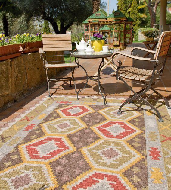 Colección de Alfombras Exterior Ideales para tu jardín y terraza