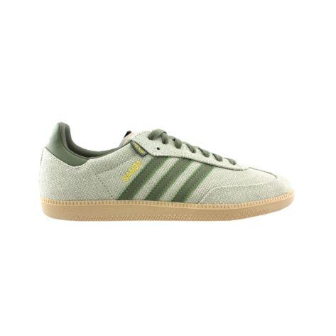 Mens adidas Samba Hemp Athletic Shoe - Tan Green  25a47a313822