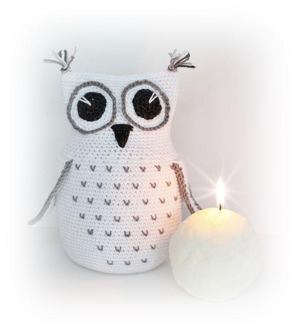 Owl pattern in English | Kostenlose Häkelmuster | Pinterest | Tejido