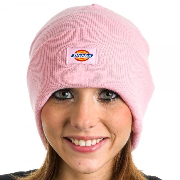 Dickies Core Pink Cuffed Beanie Hat Core Knit Cuff - NWT Warm Winter Brand  New  Dickies  Beanie  Everyday 2ec1777a99a