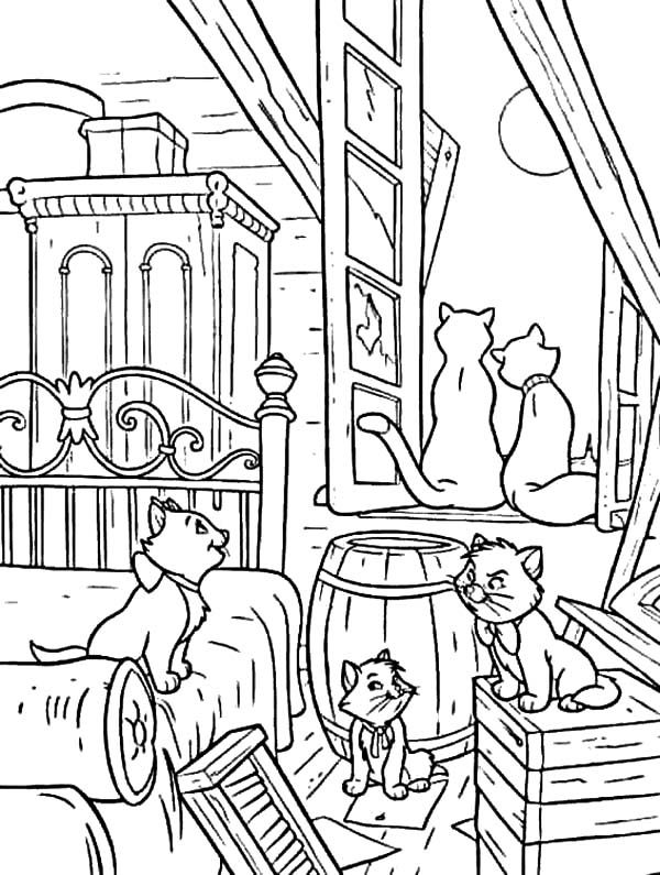 Aristocats Coloring Pages Aristocats, Aristocats party and Adult - best of coloring pages disney jessie