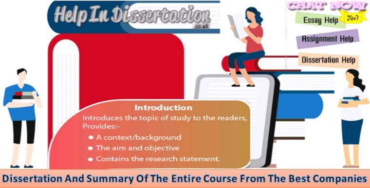 Dissertation And Summary Of The Entire Course From Best Companie Good Company Writing