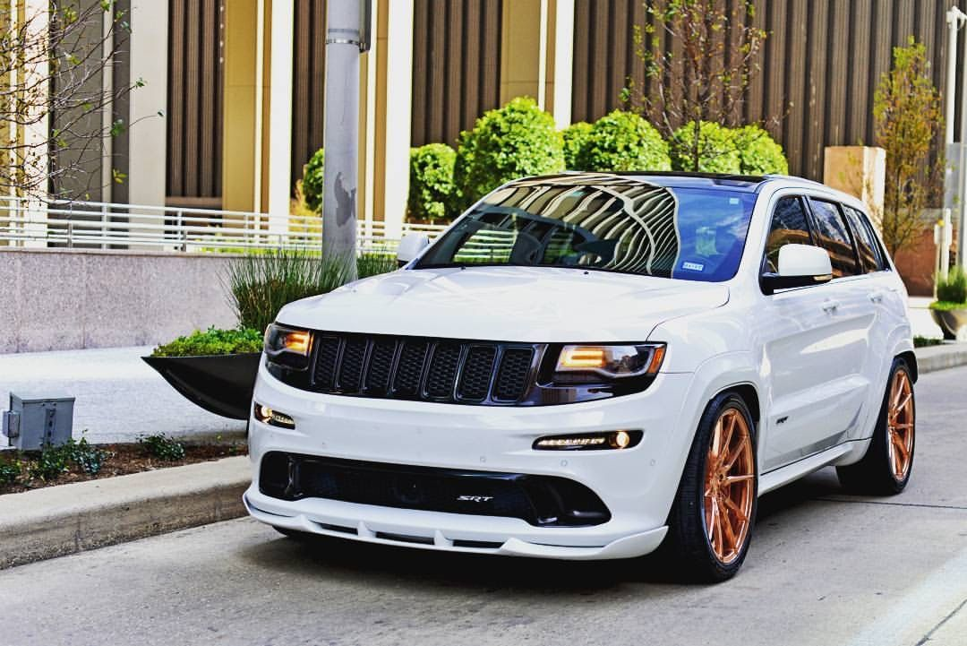 Srt Grand Cherokee Hemi Jeep White Jeep Srt8 Jeep Grand