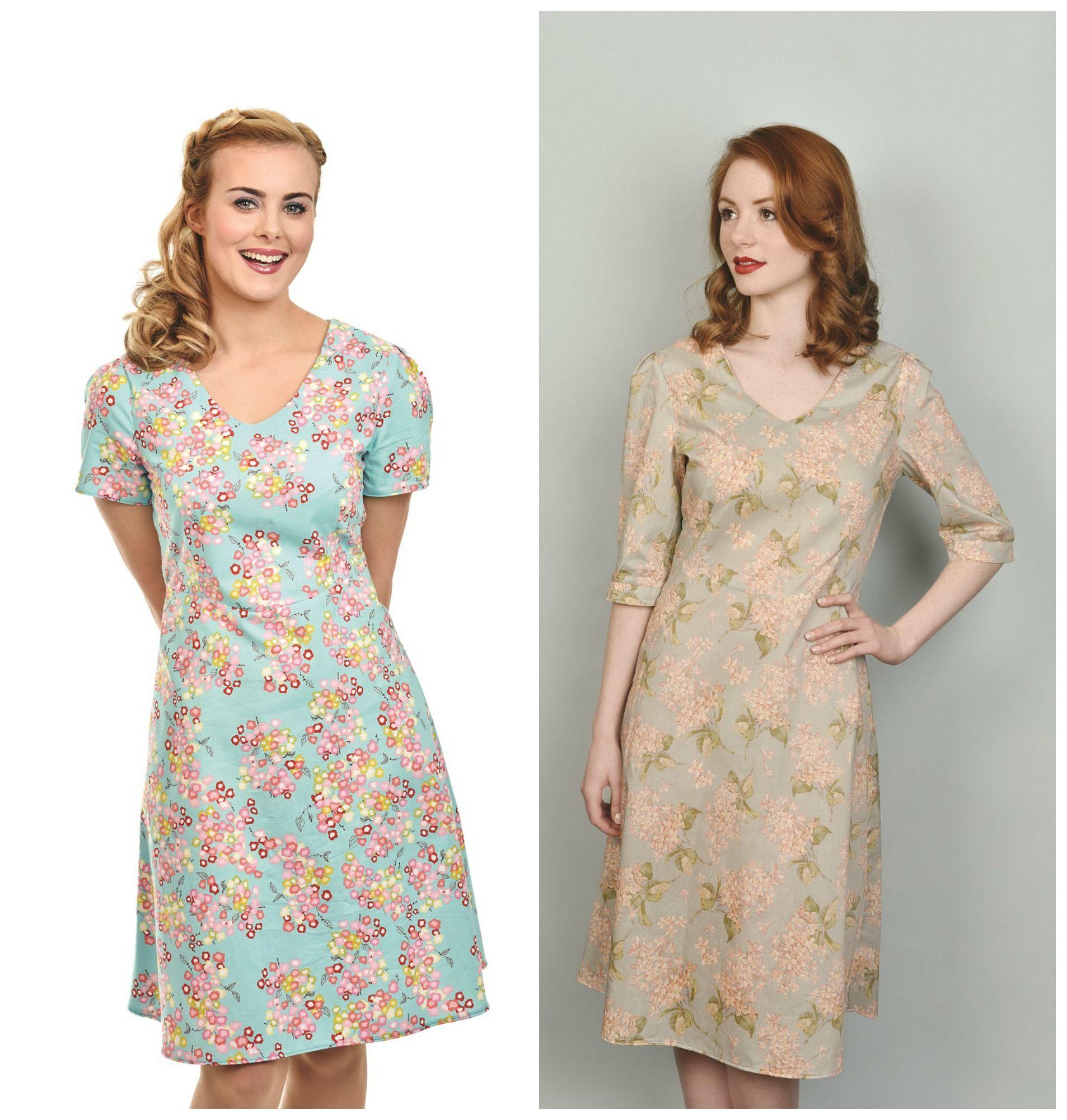 free tea dress sewing pattern | 1.Costura: Ropa.Patrones e ...