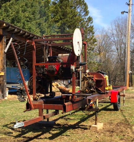 Portable Sawmill for Sale, located in Ontario ...