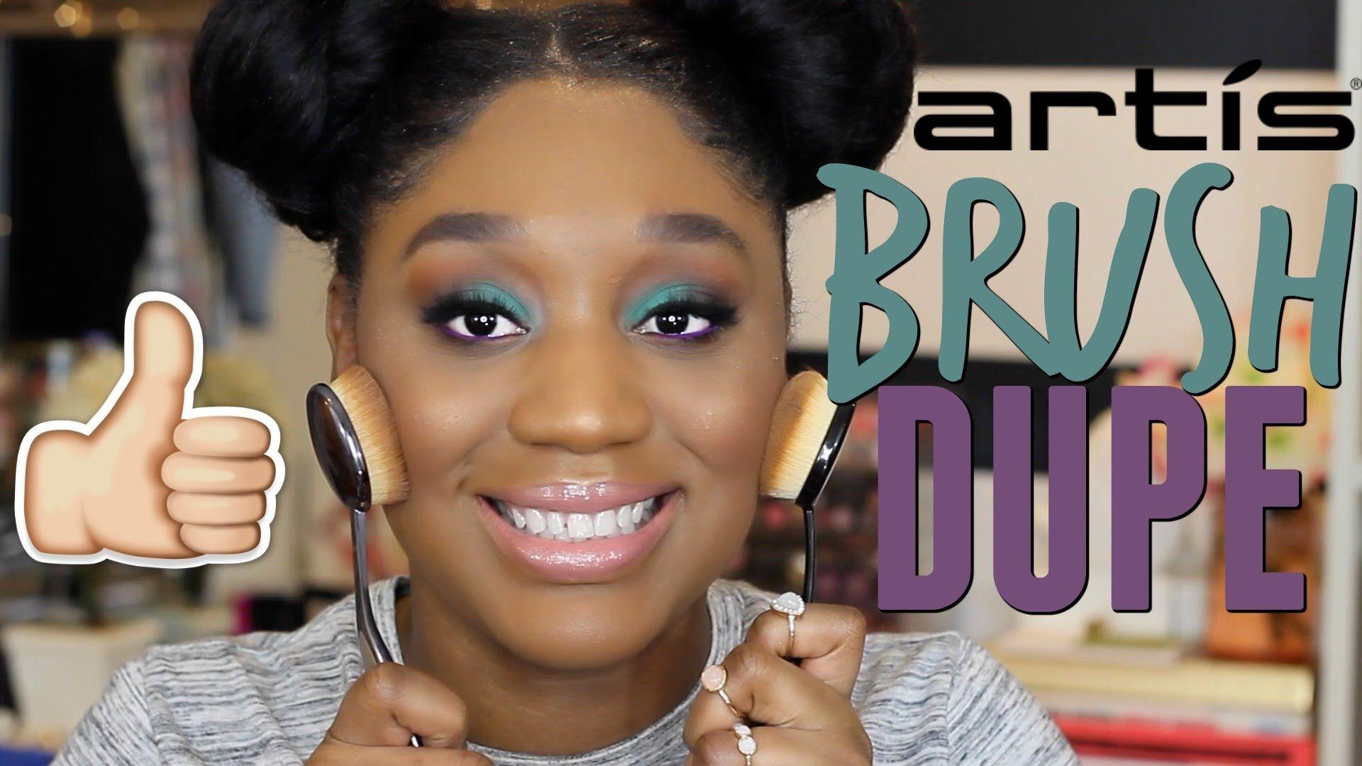 Artis Brush Dupe? Demo YouTube Artis brushes, Dupes