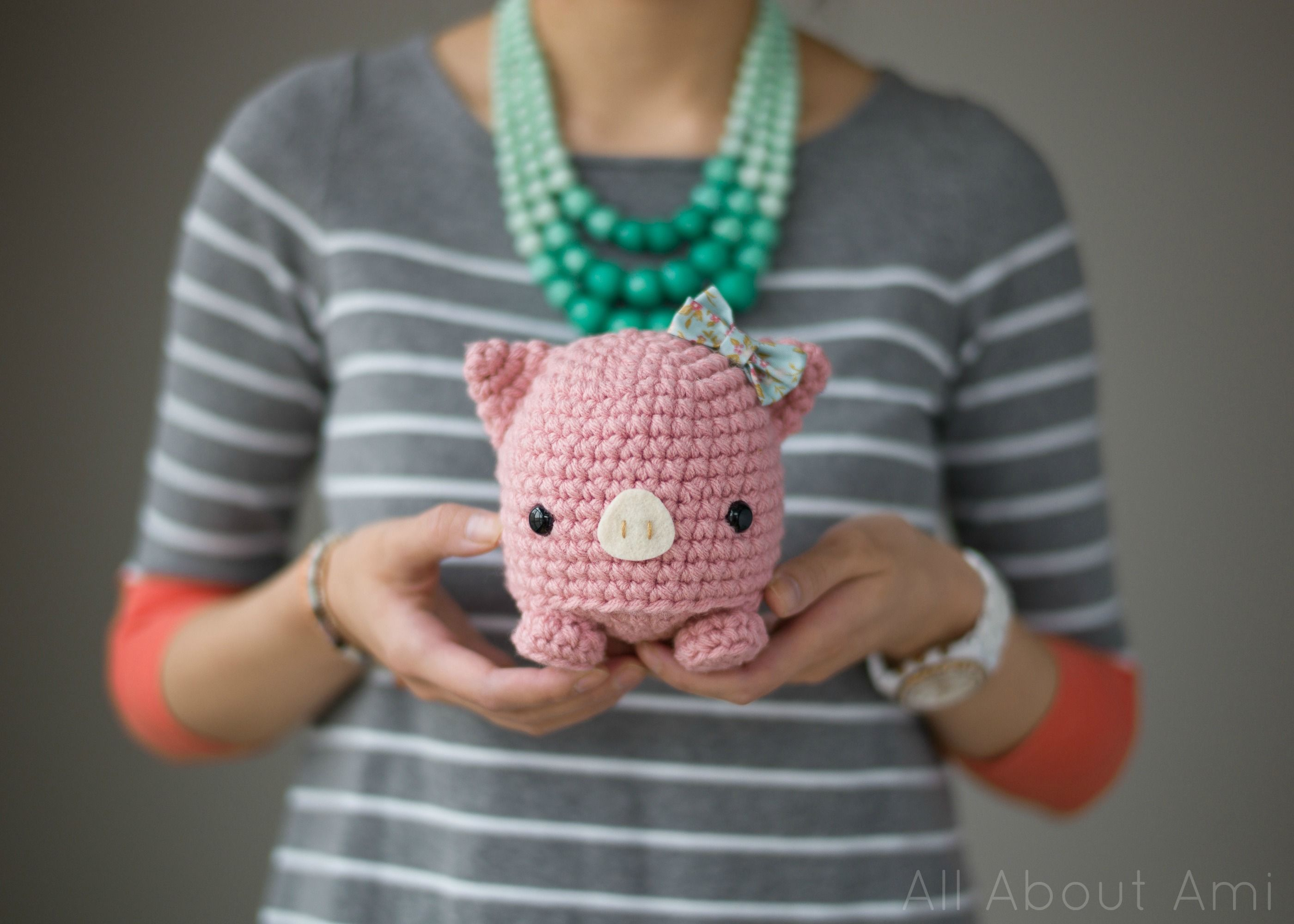 Piglet Amigurumi Free Pattern : Studio ami pig amigurumi yarns and patterns