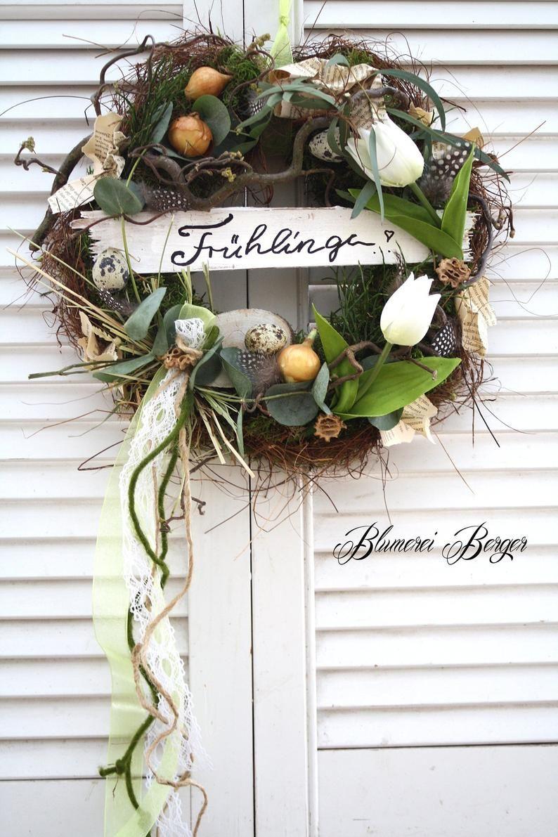 Door wreath Spring