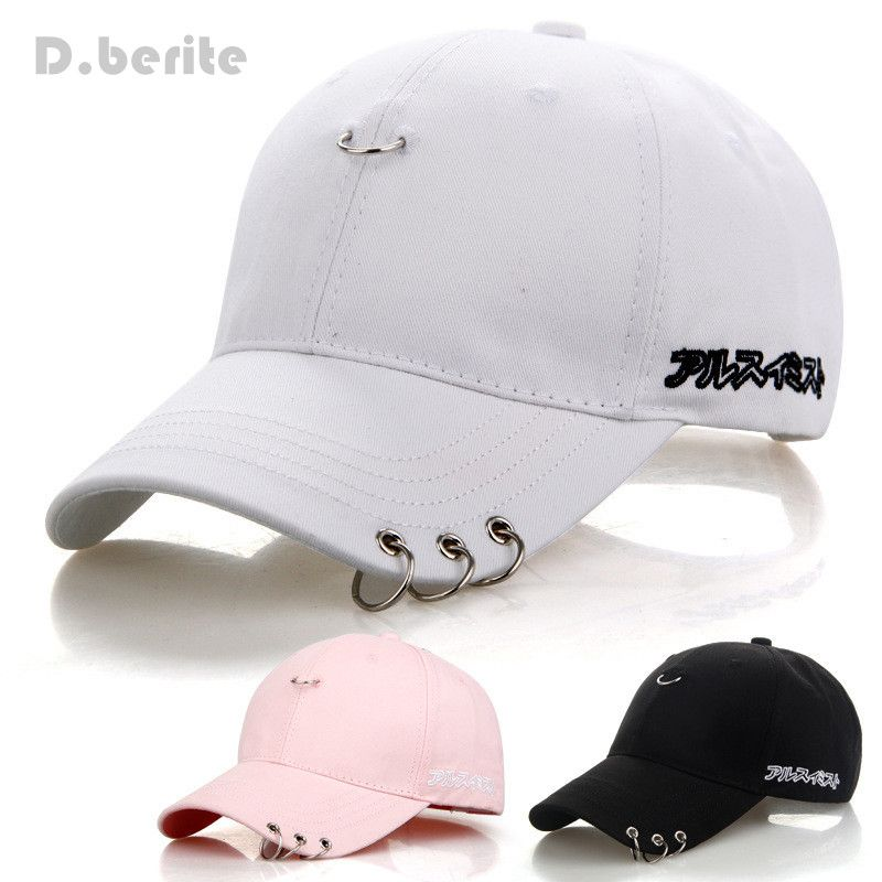 Mens Snapback Hats BTS Jimin Fashion K Pop Iron Ring Hats Adjustable  Baseball Cap GPD8216   Price   9.95  PleaseForgiveMe f459920fbc14