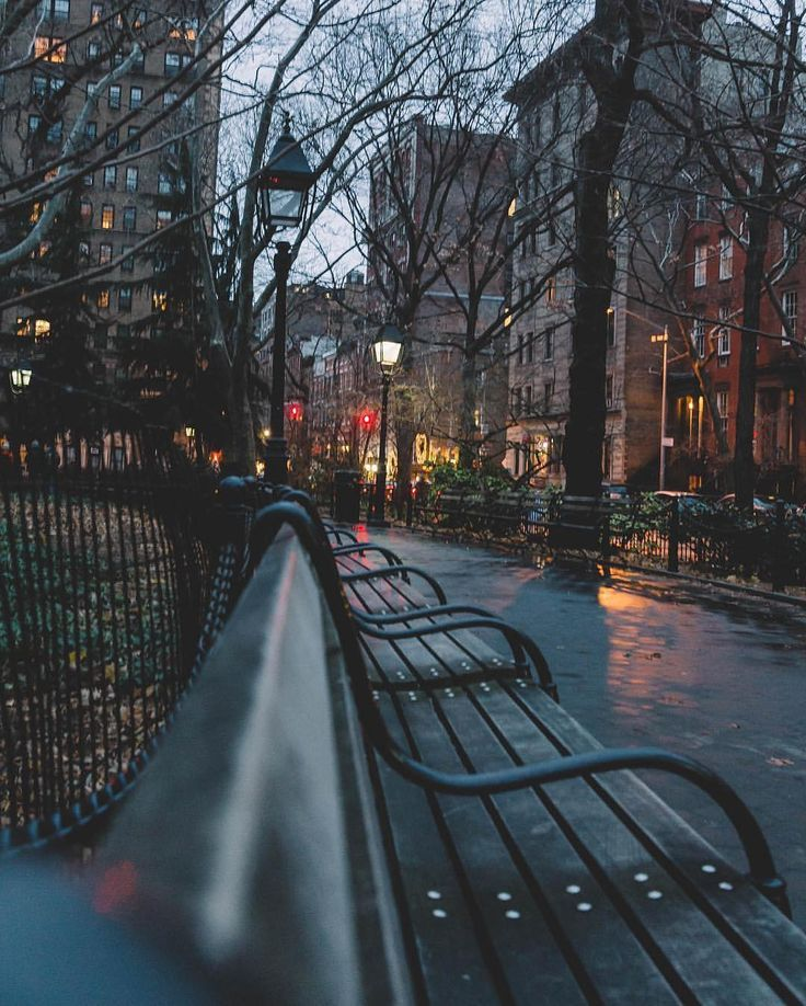 City in the rain #autumninnewyork