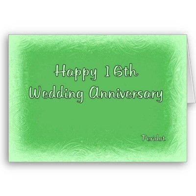 16th Wedding Anniversary Card Zazzle Com In 2020 16th Wedding Anniversary Anniversary Wishes Quotes Wedding Anniversary Cards